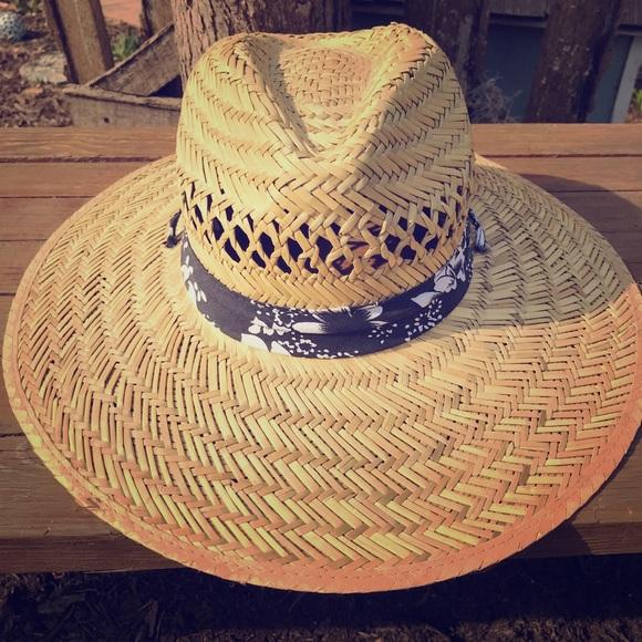 7a995946 Panama Jack Accessories | Straw Sun Hat With Chin Strap | Poshmark